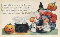 Free Vintage Halloween Art