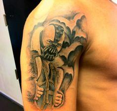 Check Out a Crazy Fan's 'Dark Knight Rises' Tattoo / #thedarkknightrises #batman