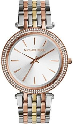 5ee3c0eab2 Michael Kors Watches Collection 2018   2019   Michael Kors Womens Darci  TriTone Watch     You can get additional detail. - Watches Topia - Watches   Best ...