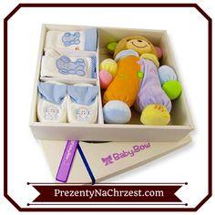 Kolejnym oryginalnym podarunkiem na chrzest święty będzie tzw. pudełko wspomnień. Dostępne w dwóch kolorach: różowym i niebieskim, także może być pamiątką zarówno dla dziewczynki jak i dla chłopca. http://bit.ly/1nLG4QL