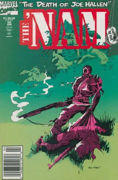 The Death Of Joe Hallen - The Nam - Part Two Of Five - Marvel - 55