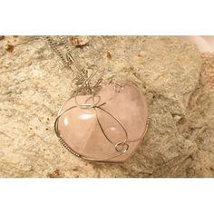 Argent sterling 925 Pendentif en forme de c/œur avec inscription /«/I Love You to the moon and back//» et ailes /à strass