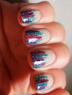 I love cute simple nail designs!