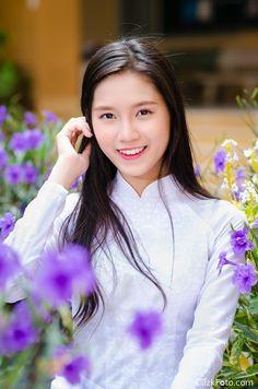 Áo dài nữ sinh Bảo Như 05