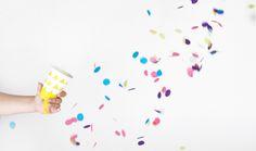 DIY gratuit - Canon à confettis - mariage