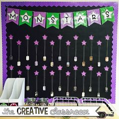 Monster Theme Classroom Reveal 2015-2016