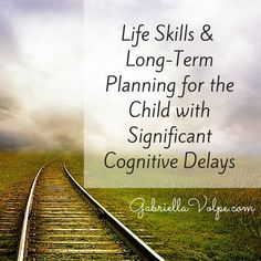 This post gives you a concrete example of long-term planning for a child with significant delays through the acquisition of life skills. Translocation Down Syndrome, Down Syndrome And Autism, Global Developmental Delay, Developmental Delays, Special Needs Students, Special Kids, Life After High School, Teaching 6th Grade, Plan For Life
