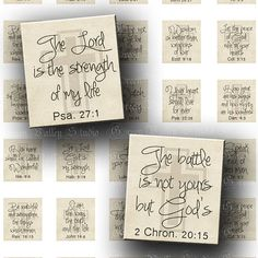 Digital Images Collage Sheet Inspirational Bible by greenvalley, $3.50