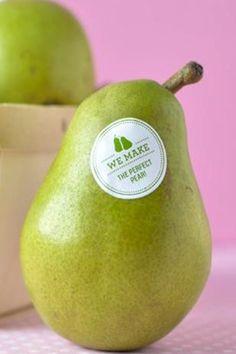 "We make the perfect ""pear"" stickers Keywords: #weddings #jevelweddingplanning Follow Us: www.jevelweddingplanning.com  www.facebook.com/jevelweddingplanning/"