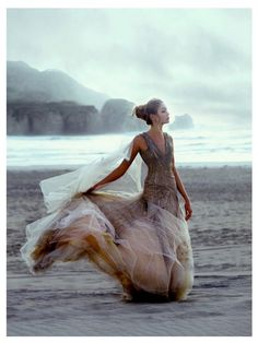 One Day!! I will walk on the beach with a beautiful gown <3