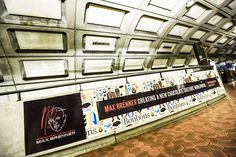 Subway station wrap takeover