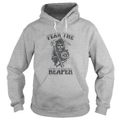 Sons Of Anarchy Fear The Reaper T Shirts, Hoodies. Get it here ==► https://www.sunfrog.com/TV-Shows/Sons-Of-Anarchy-Fear-The-Reaper--SportsGrey-Hoodie.html?41382 $49