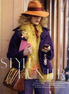British Vogue - Style Hunter.Suvi Koponen