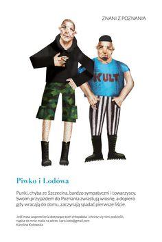 znani z poznania : Piwko i Lodówa