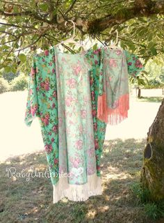 Mom and baby matching kimonos Mommy and baby by BabyUnlimited