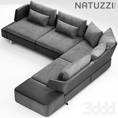Sofa – This model is accurately sized to match the real object. – No extra … Sofa Bed Design, Living Room Sofa Design, Interior Design Living Room, Living Room Designs, Basement Furniture, Sofa Furniture, Living Room Furniture, L Shaped Sofa Designs, Modern Sofa Designs