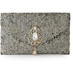 NOVICA Sequined clutch evening bag