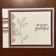 January Stamp Camp Card #2 - Stamp Set: Grateful Bunch