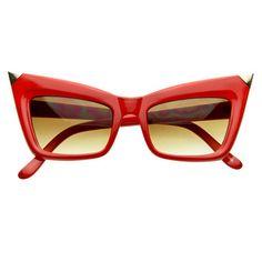 4bf0a6cbe2 COUGAR CAT EYE SUNGLASSES - RED Sunglasses Sale
