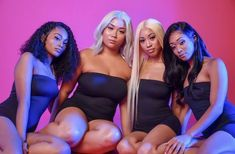 Trendy Birthday Photoshoot Ideas With Friends Black Ideas - Ideas - Birthday Glam Photoshoot, Photoshoot Themes, Photoshoot Inspiration, Best Friend Outfits, Girls Best Friend, Black Girl Groups, Black Girls, Pink Black, Shotting Photo