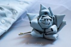 la Tana del Coniglio: rosa handmade / handmade fabric flower