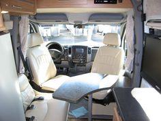 Interior Of Peter S Super High Roof Sprinter Camper Van