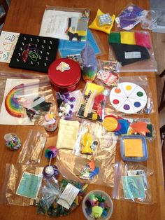 Busy Bag Swap for Toddlers! I want to do this with a bunch of friends!!