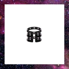 ENCRUSTED TRIPLE BAND RING £110.00 Band Rings, Jewelry Collection, Accessories, Jewelry Accessories