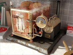 Steampunk Toaster