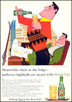 1959 7-UP advertisement