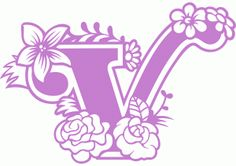 Silhouette Design Store - View Design # Secret Garden v Vinyl Monogram, Monogram Alphabet, Alphabet And Numbers, Paper Lace, Letter Stencils, Silhouette Design, Silhouette Files, Letter Art, Paper Cutting