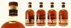 Red River Texas Bourbon Whiskey Brand Design & Packaging by Ben Jenkins