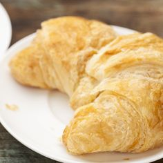 Traditional Buttery French Croissant recipe. Flaky and delicious.