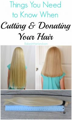 Things You Need to Know When Cutting & Donating Hair from BabesInHairland.com