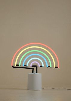 #ModCloth - #ModCloth We All Need Somebody to Neon Light in Rainbow - AdoreWe.com