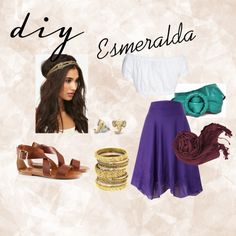 Esmeralda costume halloween esmeralda costume notre dame and diy esmeralda by toastymissy on polyvore solutioingenieria Image collections