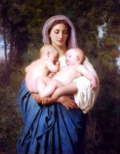 Mother of All Art and Art History Links Pages (including a large list of art museums) from Michigan School of Art and Design. IMAGE: William-Adolphe Bouguereau: Charity: Courtesy of the University of Michigan Museum of Art William Adolphe Bouguereau, Forest Lawn Memorial Park, Virgin Mary, La Rochelle France, Jean Leon, Beaux Arts Paris, Academic Art, Oil Painting Reproductions, Mother And Child