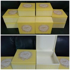 Yellow box with inside box