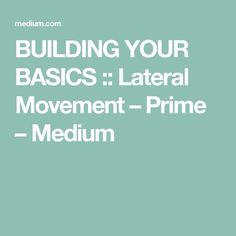 BUILDING YOUR BASICS :: Lateral Movement – Prime – Medium