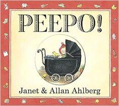 Peepo! (Board Book): Amazon.co.uk: Allan Ahlberg, Janet Ahlberg: 9780141337425: Books