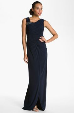 mock 2 piece mother of the bride dress - Cachet Mother of the ...
