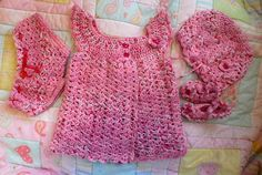 Pink Baby Sweater Pink Baby Girl Sweater by TillieLuvsTreasures