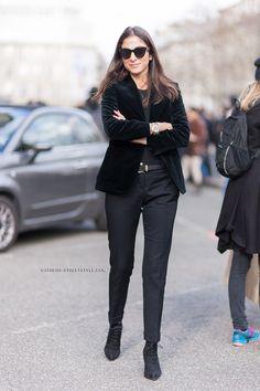 Capucine throwing some Parisian cool around. Paris.    #CapucineSafyurtlu