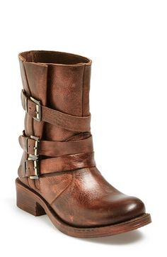 Free shipping and returns on Miz Mooz 'Clang' Leather Moto Bootie (Women) at Nordstrom.com. Get revved up and make some noise in these supple leather moto booties that feature adjustable straps set off by antiqued buckles.
