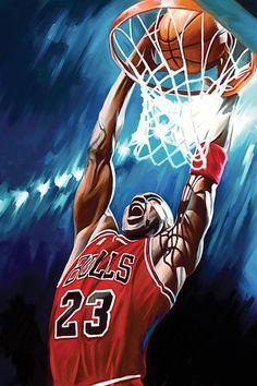 Nba Painting - Michael Jordan Artwork by Sheraz A Art Football, Basketball Art, Basketball Pictures, Basketball Boyfriend, Basketball Drawings, Street Basketball, Basketball Videos, Basketball Birthday, Michael Jordan Poster
