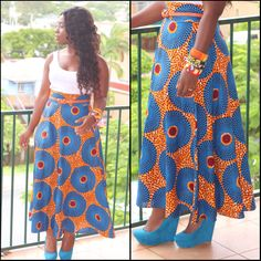 Love The Skirt Would Do A Different Top Though My Kind Of Style Pinterest Bald Hairstyles And Africans