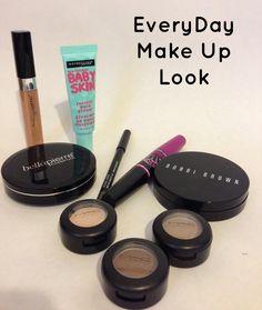 Easy Fast Everyday MakeUp Look.... MAC, Bobbi Brown, BellaPierre, Maybeline