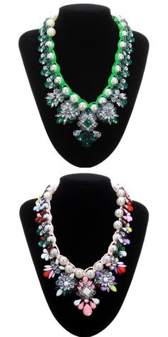 Luxury acrylic pearl crystal flower statement necklace jewelry necklace pendants for mothers #gold #necklaces #pendants #singapore #jewelry #bottle #pendants #necklace #pendants #and #beads #pandora #necklace #pendants #uk