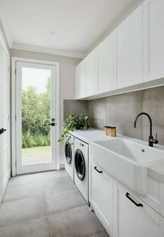 33+ Beautiful and Efficient Laundry Room Designs #beautifullaundry #laundrydesign #laundryideas ~ Gorgeous House