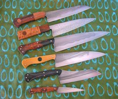 custom kitchen knives